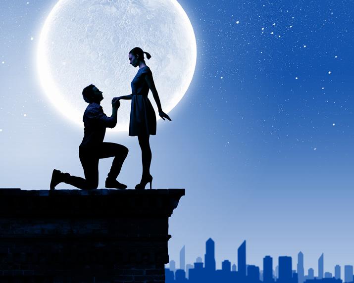 夜のデート、ベッドイン…